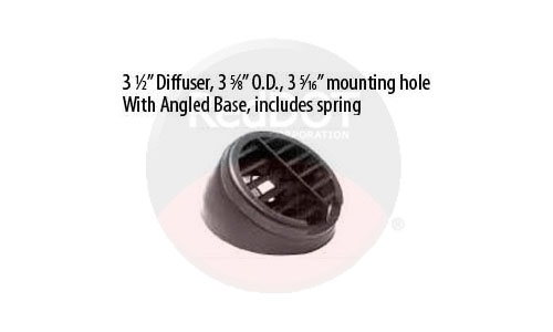 Red Dot Outlet Defrost Louver Part Number 72R3530 RD-3196-3P